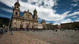 Plaza de Bolívar, Bogotá.