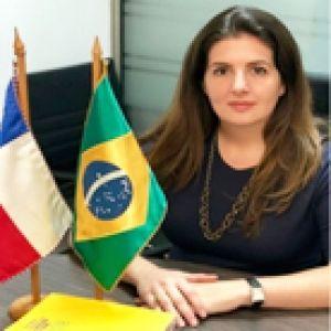 """Renata Fasano, jefa del Sector de Promoción de Comercio, Turismo e Inversiones de la Embajada de Brasil: """"El deporte indudablemente es un nicho de mercado que crece año a año"""""""