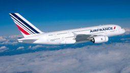 Air France demorará su regreso a China continental.