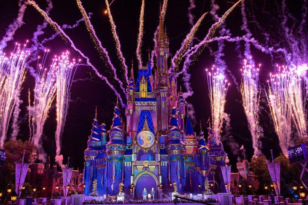 Con una gran celebración se da por comenzado el 50° aniversario de Walt Disney World.