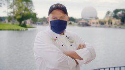 Daniel Contreras fue uno de los chefs elegidos para la iniciativa de Disney.