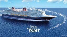 El nuevo barco de Disney Cruise Line comenzará a navegar a mediados de 2022.
