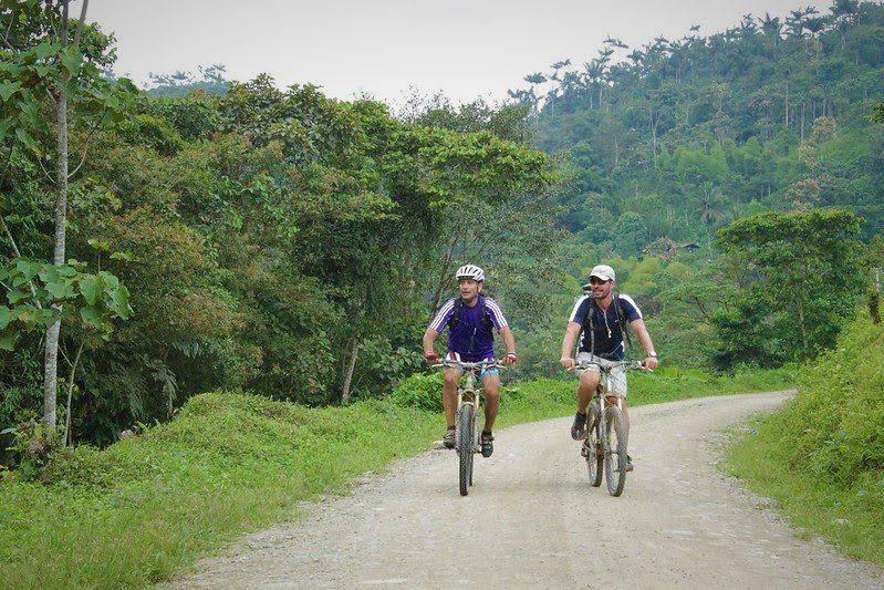 En los alrededores de Quito también existen rutas para los turistas.
