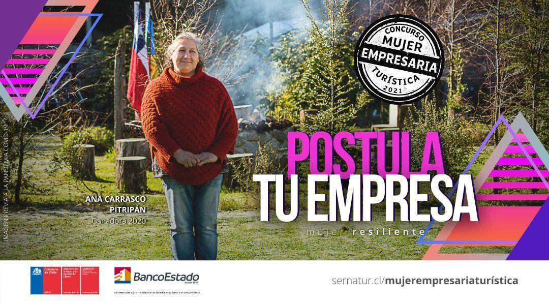 Mujer Empresaria Turística tiene abiertas sus postulaciones hasta el 9 de julio.