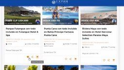 Expan Pro es un completo catálogo digital especializado para agentes de viaje.