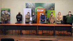 Entrega de protocolos de bioseguridad para Parque Nacional Cajas