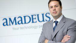 Decius Malmorvida, presidente de la unidad Travel de Amadeus.