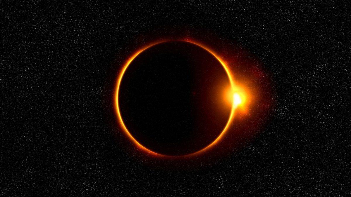 El eclipse se verá en la zona sur del país el 14 de diciembre.