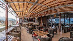 El restaurante del Sonesta Hotel Arequipa.