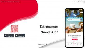 Una app que facilita todo a los huéspedes de los hoteles RIU
