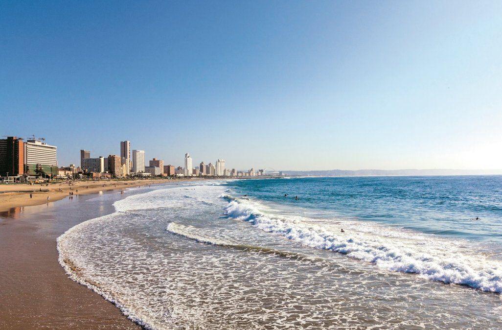 Las playas sudafricanas son ideales para descansar luego de varios días de safari.