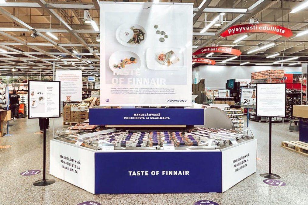 Los sabores de Business Class de Finnair