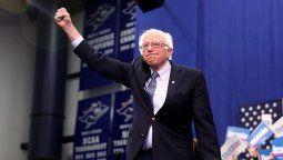 Bernie Sanders, senador y precandidato presidencial por el Partido Demócrata.
