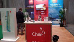 Chile con presencia mínima en la feria, apostó por la virtualidad.