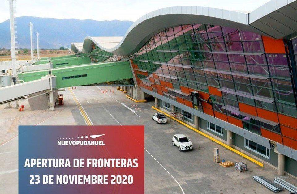 Es oficial: apertura de aeropuerto SCL para turistas será el 23 de noviembre