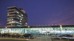 La operación de vuelos internacionales en Perú se concentra en el Aeropuerto Internacional Jorge Chávez de Perú.