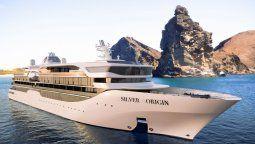 Un innovador cruceros especialmente diseñado para explorar las Galápagos.