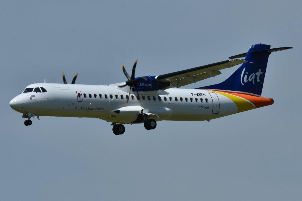Un ATR-72/600 de LIAT.