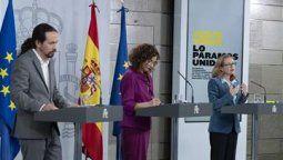 Autoridades del Gobierno español anunciaron 50 nuevas medidas en conferencia de prensa