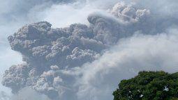 Erupción en el volcán La Soufriere, en San Vicente.