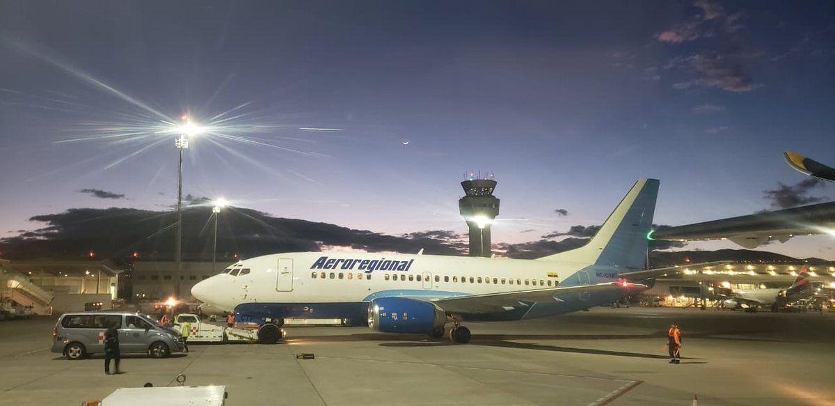 Aeroregional se encuentra en tercer lugar en el ranking de puntualidad.