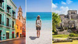 México es uno de los principales destinos preferidos por el momento, de acuerdo con Más Travel.