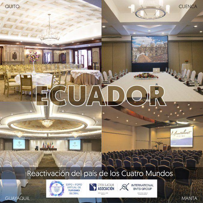 Ecuador apuesta por la promoción virtual