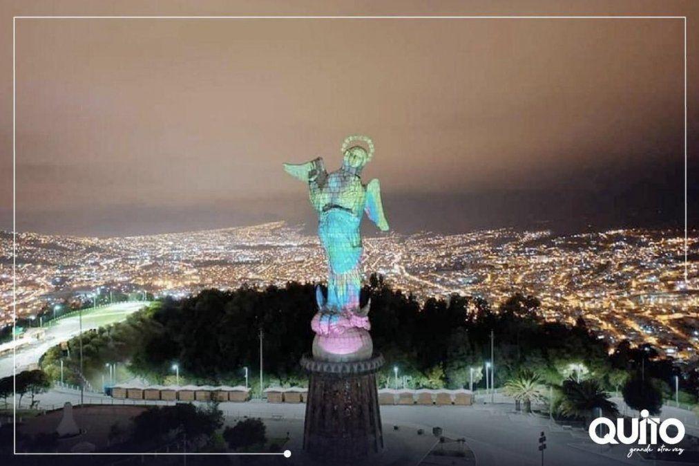 Más de US$ 1 millón se invertirán en la restauración de El Panecillo (Quito).