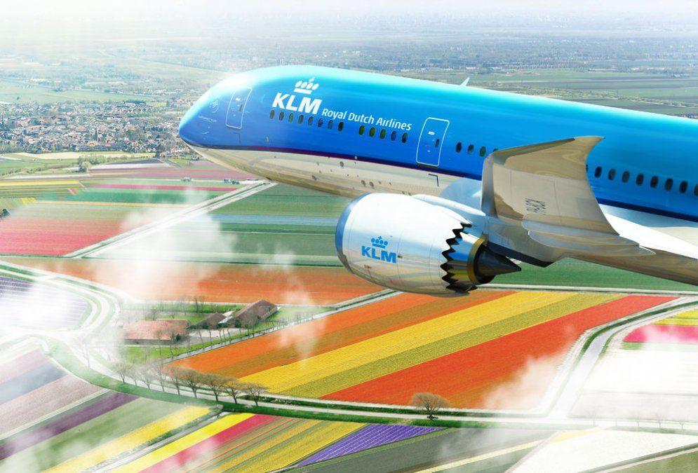 KLM mantiene sus operaciones hacia Ámsterdam