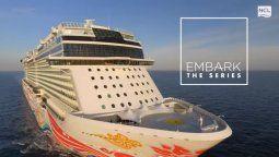 NCL estrenó la nueva serie de Embark.