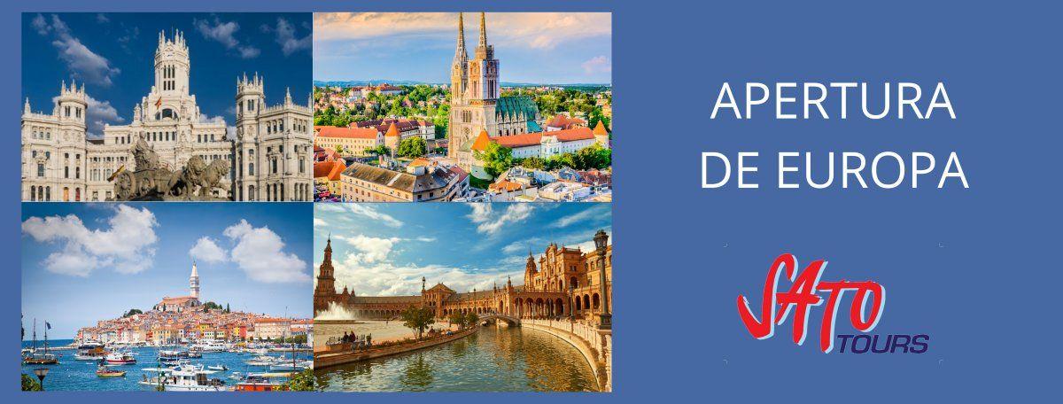 Atractivos programas de Sato Tours en Europa.