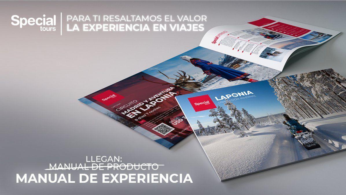 """Special Tours: los nuevos """"Manuales de Experiencia"""" cuentan con información"""