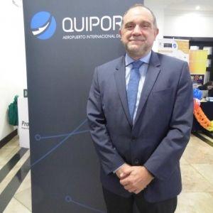 """Carlos Criado, director de Desarrollo de Quiport; """"La entrada del modelo low cost al país definitivamente dinamiza el turismo y el mercado"""""""