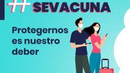 La campaña de Fedetur invita a los trabajadores del turismo a vacunarse.