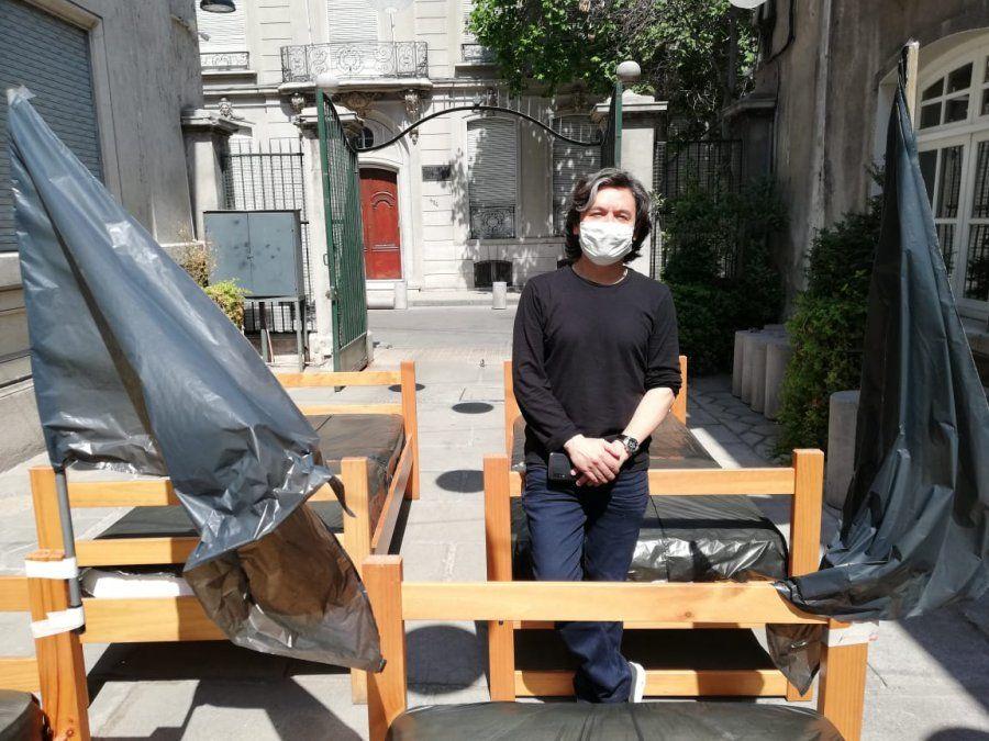 El empresario turístico Sergio Pino (ex presidente de Chile Sertur) es uno de los voceros del movimiento.