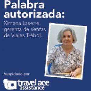 """Ximena Laserre, gerenta de Ventas de Viajes Trébol: """"Debemos insistir en la necesidad de certificarnos y aplicar modelos de gestión que eleven el nivel del gremio"""""""