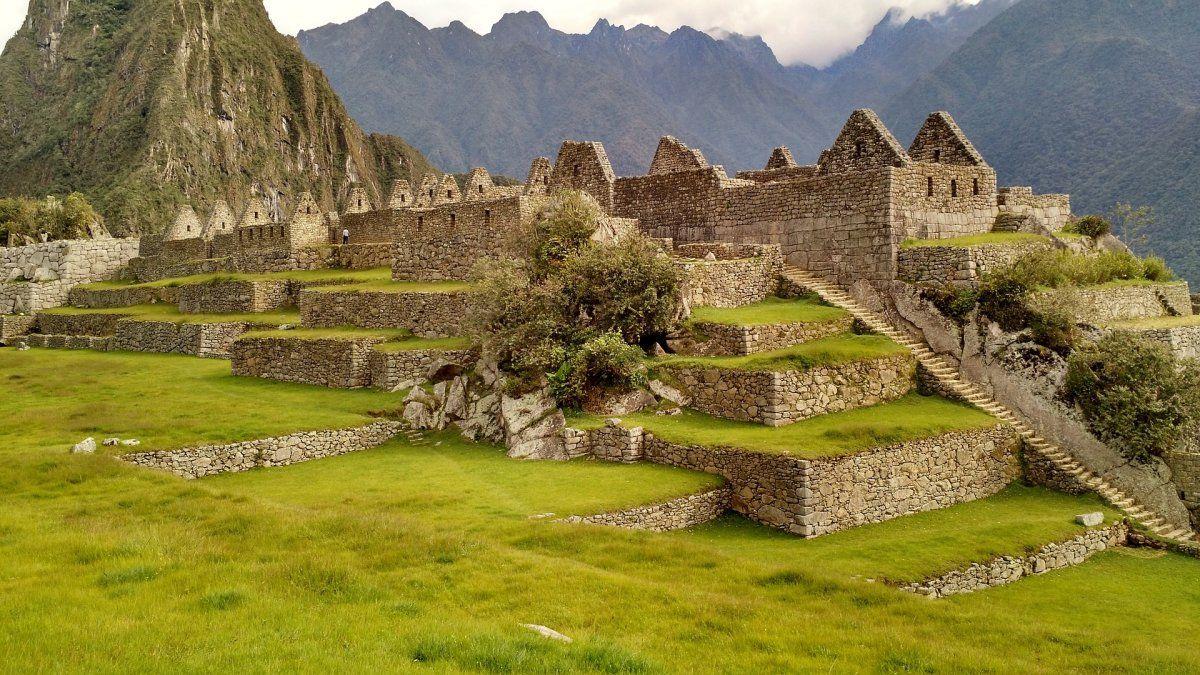 El aforo de Machu Picchu era de 2.244 turistas por día.