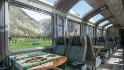 PeruRail dio a conocer los nuevos horarios de su tren Observatorio Vistadome.