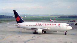 Air Canada recontrato a miles de trabajadores.