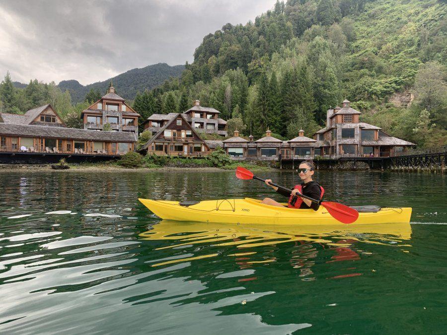 Alrededor del lodge se pueden realizar un montón de excursiones y actividades outdoor