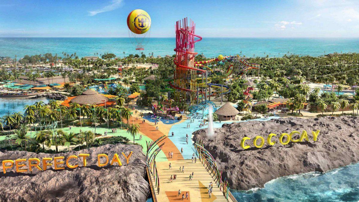 CocoCay, la isla privada de Royal Caribbean en Las Bahamas.