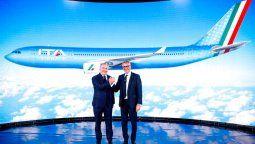 Alfredo Altavilla y Fabio Lazzerini, máximas autoridades de ITA Airways.