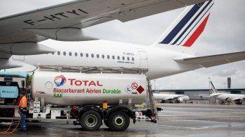 Air France-KLM: primer vuelo ecológico de larga distancia