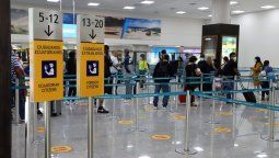 Cuarentena estricta para pasajeros provenientes de Brasil.