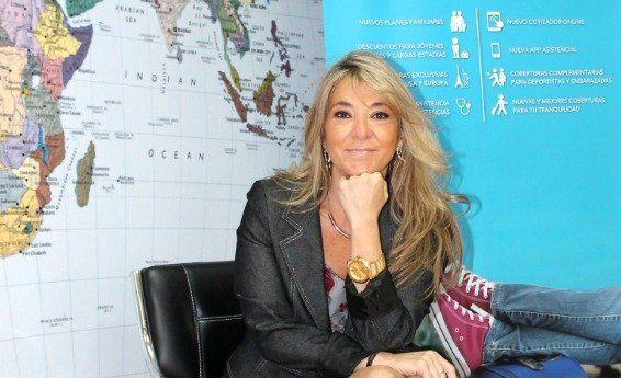 María Paz Jansana, directora comercial de Universal Assistance Chile.