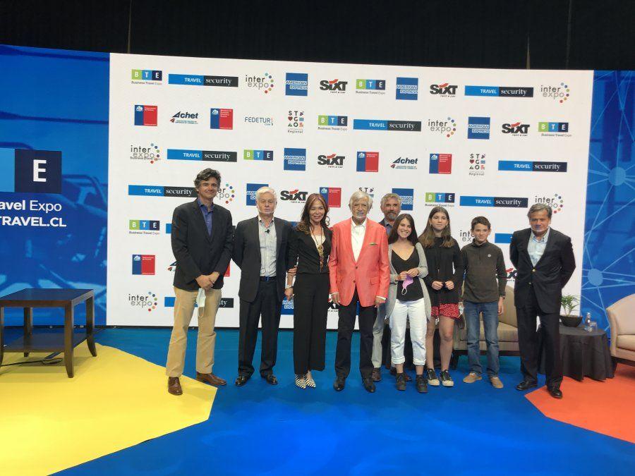 Carlos Cardoen fue reconocido como Empresario del Año en BTE 2020.