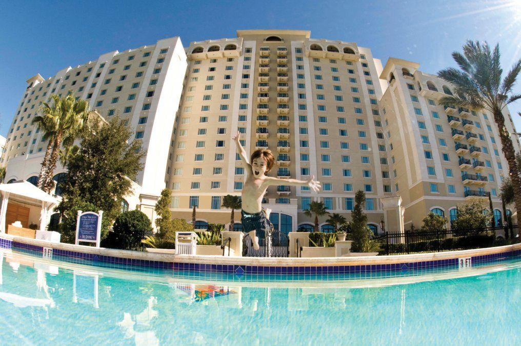 Los hoteles tienen muchas opciones para que se diviertan los chicos