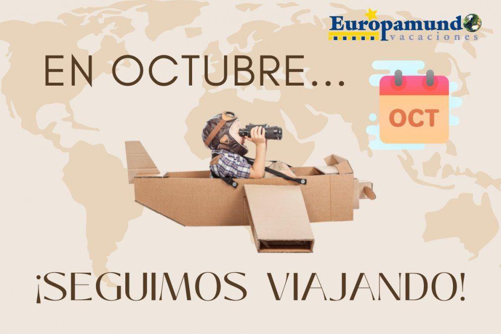 Europamundo ofrece 748 circuitos para recorrer Europa en octubre.