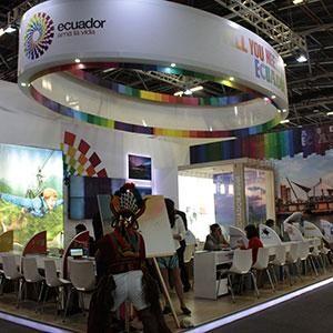 Ecuador apostó por el mercado colombiano en la Vitrina Turística de Anato