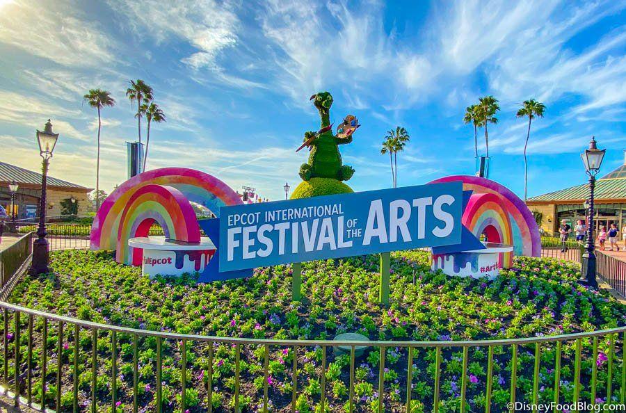 Taste of EPCOT International Festival of the Arts.